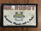 Mr Robot Morale Velcro Patch Milspec Tactical Handmade in the USA FSociety