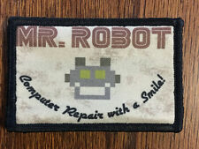 Mr Robot Morale Patch  FSociety  Milspec Tactical Handmade in the USA