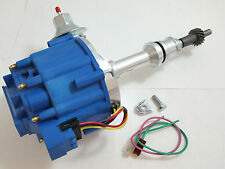 SBF Small Block Ford 260 289 302 HEI Ignition Blue Cap Distributor w/ 50K Coil