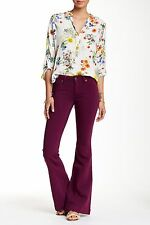NWT DL1961 BAG SNOB ESSESNTIALS Joy Flare Quartz Purple Stretch Jeans SZ 25 $178