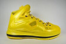 Nike Lebron 10 X Honeywell MUST BE THE HONEY Size 10 Mens USED 350 v2 black