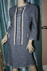 NANETTE LEPORE TWEED SKIRT SUIT SIZE 12 & 10