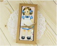 30pcs Lovely Dolls Girls Paper Bookmark For Gift Present Souvenirs Prize