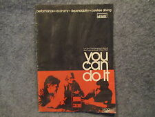 1976 Montgomery Ward You Can Do It Magazine Test Equipment Manual Tune Up Guide