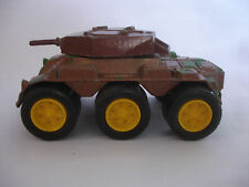 Old Vtg TootsieToy Diecast Military US Army Tank Tanker Vehicle Turn Gun