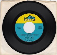 """The Ad Libs """"The Boy From New York City"""" & """"Kicked Around"""" 1965 Pop NM Condition"""