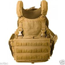 Velocity Systems SCARAB Light Armor Plate Carrier - Size Large - Color Coyote