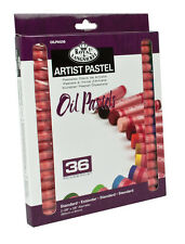 36 QUALITY PIGMENT COLOUR OIL PASTELS SET ARTISTS DRAWING & SKETCHING OILPA-536