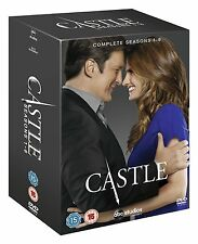 Castle Crime Drama TV Series Complete 33 Discs DVD Collection Box Set Season 1-6