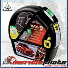 "CATENE DA NEVE ""WX-9 SNOWDRIVE WINTER EXTREME"" GD *GR6* 9MM OMOLOG. SMART FORTWO"