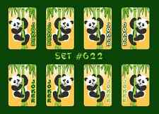 Mah Jongg Jong Mahjong Joker Stickers - Set #622 ** Free Shipping **