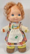 """MATTEL BABY LOVE NOTES 14"""" CLOTH MUSICAL SQUEEZE BABY DOLL TOY VINTAGE 1974"""