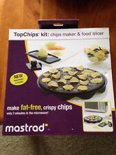 Mastrad TopChips Kit NIB Chips Maker Food Slicer