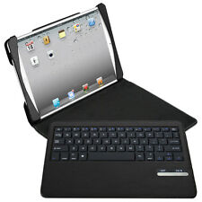 Naztech Sleek- Folio Case with Bluetooth Keyboard for Apple iPad Air - Black