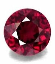 5mm ROUND NATURAL RED RHODOLITE GARNET GEM GEMSTONE