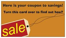 100 Business Card Size Gospel Tracts Coupon Savings
