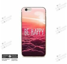 BE HAPPY Color Slim Soft Souple Case for Apple iPhone 6 6S (4.7)