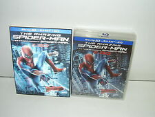 The Amazing Spider-Man 3D (Blu-ray/DVD Region Free, 2012 Canadian Slipcover) NEW