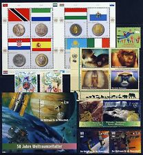 UN . VIENNA . 2007 Year Set . 11 Stamps & 2 Sheets . Mint Never Hinged