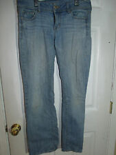 American Eagle Slim Boot Stretch Jeans RN54485, Size 10 Regular, Distressed