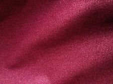 RUBELLI  Raffia raspberry woven texture cotton backed new 1 yard