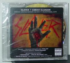 Slayer Christ illusion sp. limited edition CD/DVD (2007 AR LLC) Rare NEW Promo