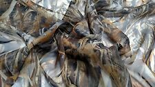"FLOODED TIMBER MOSQUITO BLIND CAMO BUG MESH FABRIC 60""W SHEER TRUE TIMBER BY YD"