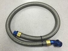 """NASCAR BMRS ICORE -16 STEEL BRAIDED LINE HOSE Fittings 52"""""""