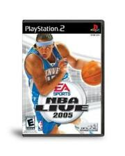 PlayStation2 NBA Live 2005 VideoGames