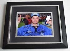 Anders Limpar SIGNED 10X8 FRAMED Photo Autograph Everton AFTAL & COA