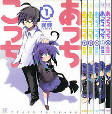 ACCHI KOCCHI PLACE TO PLACE ISHIKI MANGA SET 1-6 JAPANESE ANIME COMIC BOOK F/S