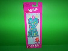 NIP 1998 Mattel Barbie Doll Go In Style Fashions Dress & Heels Shoes Clothing