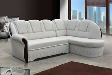 Set Lord Corner sofa with Bed function Couch Interior design 01546
