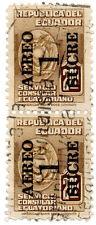 (I.B) Ecuador Revenue : Consular Service $2 (Air Mail Overprint)
