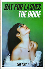 BAT FOR LASHES The Bride 2016 Ltd Ed New RARE Poster +FREE Indie Pop Rock Poster