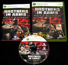 BROTHERS IN ARMS HELL'S HIGHWAY XBOX 360 Versione Italiana 1ª Ed ••••• COMPLETO