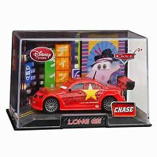 Disney Store Cars 2 Die Cast Collector Case Long Ge Chase 1:43 Scale NEW