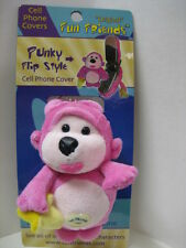 """""""PUNKY"""" Monkey Fun Friends Plush Flip-style Cell Phone Cover NEW"""