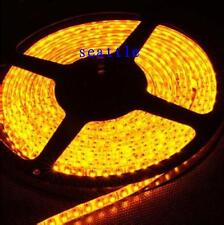 3528 SMD LED Flexible Strip Lights Yellow 5M Waterproof 600leds 120led/m Car 12V