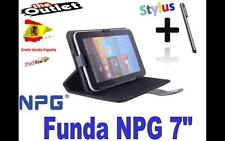 "FUNDA NEGRA TABLET NPG 7"" UNIVERSAL  el mundo as"