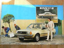 Affiche  Ancienne  RENAULT 18 Diesel  R 18   éditions Publicis   Auto