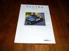 Opel Vectra Zubehör Prospekt 08/2001