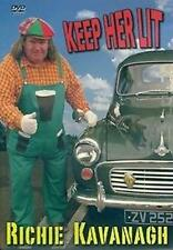RICHIE KAVANAGH KEEP HER LIT DVD - NEW RELEASE- 2013 IRISH COMEDY