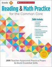 Reading and Math Practice for the Common Core (Grade 5) : 200...