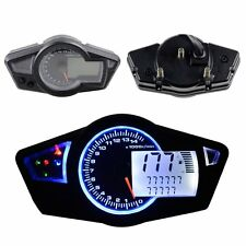 Motorcycle 15000 RPM Multi Function Odometer Speedometer Tachometer Gauge