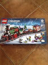 Tren LEGO 10254 Navidad Invierno Vacaciones 2016 Totalmente Nuevo Sellado Juego.