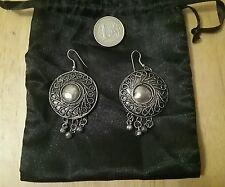boucles d'oreilles kabyles,  argentées