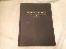 Jewelry Making for Schools, Tradesmen by Murray Bovin (1976, Hard Cover) Rare