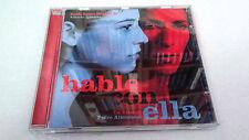 """ORIGINAL SOUNDTRACK """"HABLE CON ELLA"""" CD 20 TRACK ALBERTO IGLESIAS BANDA SONORA"""