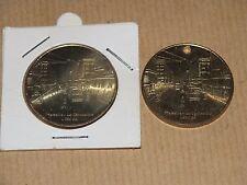très rare lot monnaie de paris 1666 ex cannebière 2009 + version percée